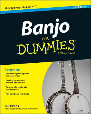 Banjo for Dummies By Evans, Bill